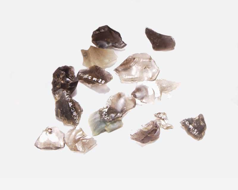 旧石器時代・石材学習キット