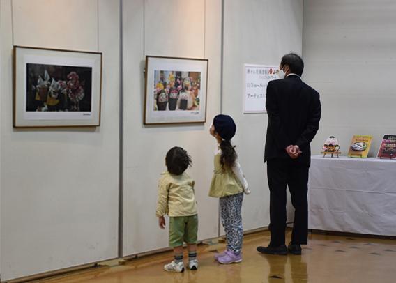 <p>「旅する美術館・わくわくアート」都城会場</p>